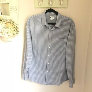 J. Crew Washed Casual Tailored Fit Shirt Size L